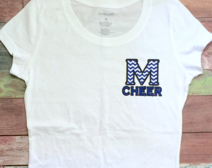 Cheer Camp Shirt, Cheer Shirts, Cheer Practice Shirt, Team Orders Welcome, Monogrammed Cheer Camp Shirt, Shirt Listing Only