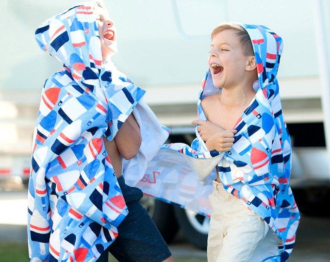 Monogrammed Hooded Beach Towel, Kids Beach Towel, Monogrammed gifts, Monogram Beach Towels, Kids Hooded Beach Towels, Toddler Beach Towel