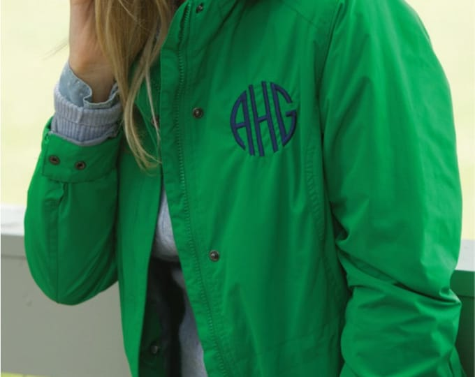 Monogrammed Women's Logan Jacket, Women's Logan Jacket, Monogram Charles River Logan Jacket, Favorite Things, Charles River Logan Jacket