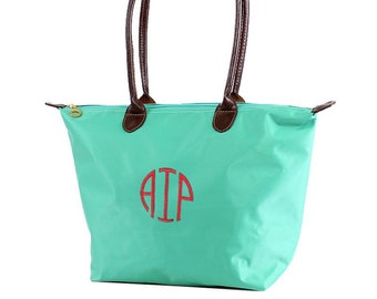 Monogrammed Tote Bag, Personalized Tote Bag, Bridesmaid Gifts, Personalized Totes