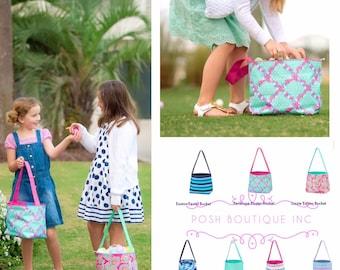 Monogram Easter Basket, Monogrammed Easter Basket, Personalized Easter Basket, Personalized Easter Bucket