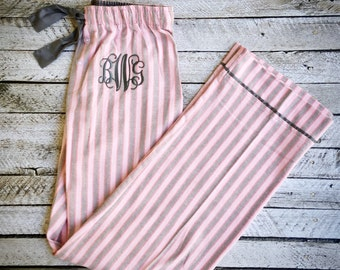 Monogram Pajama Pants, Christmas Pajamas, Bridesmaid Pajamas, Monogrammed gifts, Womens, Camouflage Pajama Pants, Group Discounts