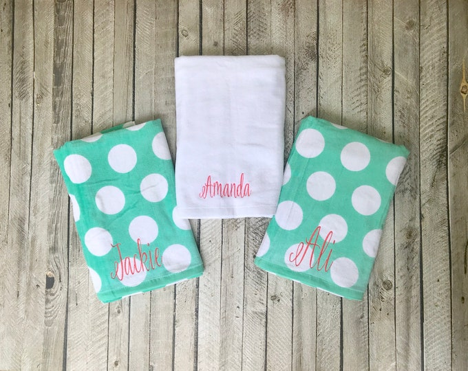 Monogrammed Beach Towels, Custom Beach Towel, Bridesmaid Gifts, Beach Towels, Personalized Gifts, Corporate Gifts, Destination Wedding