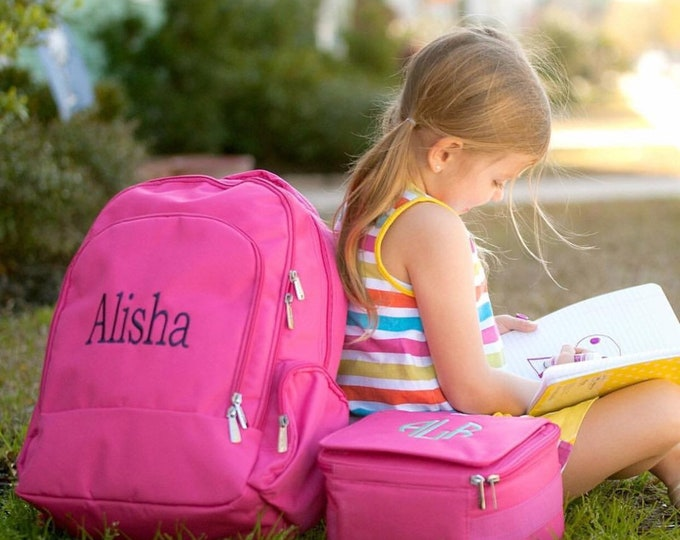 Backpack, Personalized Backpacks, Girls Backpack, Boys Backpack, Book bag, Back to School, Preppy Backpack, School Supplies, Matching Sets