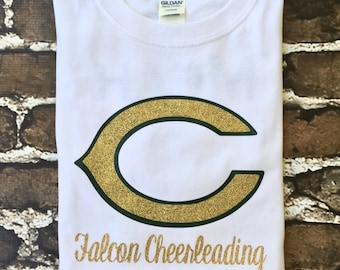 Cheer Tee Shirt, Cheer Camp T Shirt, Custom Cheerleader T shirt, Cheer Practice Shirt, School Spirit Tshirt