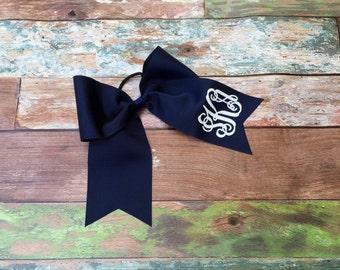 Monogrammed Cheer Bow, Hair Bows, Cheer Team Bows, Monogrammed Gifts, Big Cheer Bows, Custom Cheer Bows
