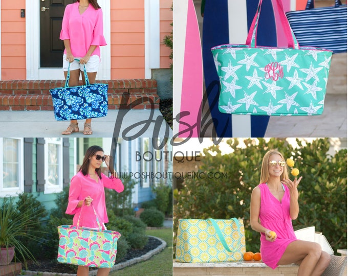 Monogrammed Ultimate Tote, Teachers Bag, Jumbo Organizer Tote, Oversized Bag, Teacher Bag, Coaches Bag, Group Discounts, Free Monogramming!
