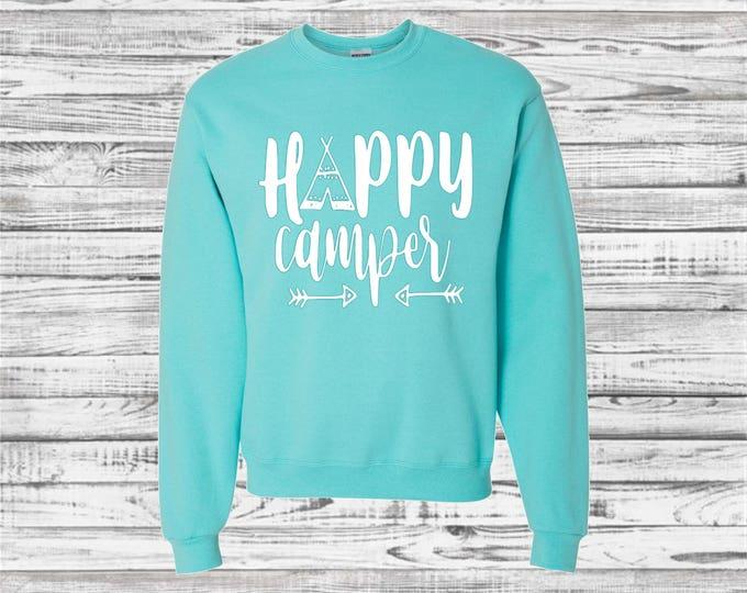Custom Camping Sweatshirt, Outdoor Sweatshirts, Camp Shirts, Camper, Bachelorette Road Trip, Camping Trip, Bridesmaid Sweatshirt