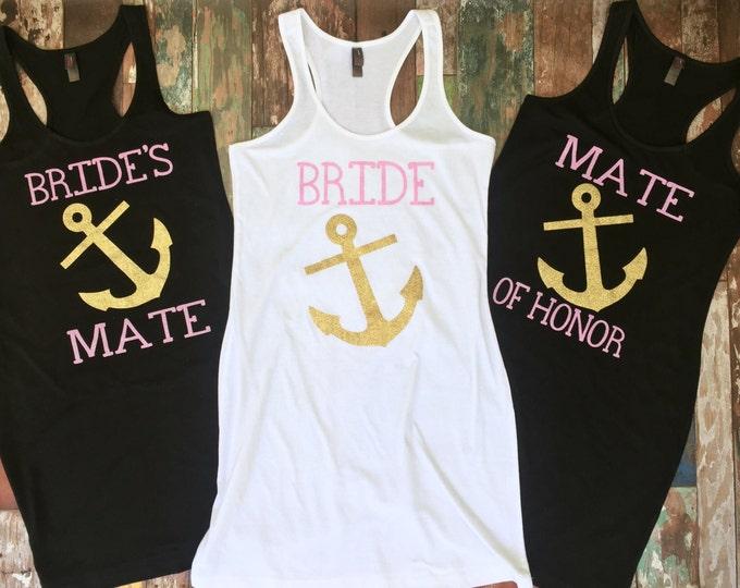 Bridesmaid Tank Dress, Bridesmaid gift, Swimsuit Coverup, Bachelorette Tank Dress, Bridesmaid Coverup, Group Discounts