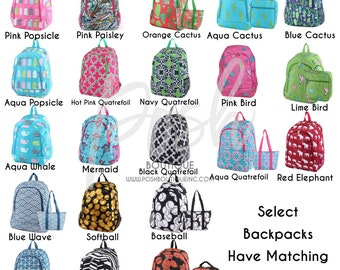 Monogram Backpack, Personalized Backpack, Back to School, Kids Backpacks, School Supplies, Girls and Boys Backpacks