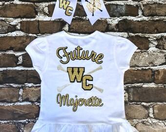 Future Majorette T shirt, Majorette T shirt, Baton t shirt, Twirler t shirt