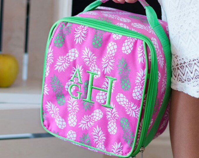 Sale! Girls Lunch Box, Boys Lunch Box, Pineapple Lunch Box, Cool Camo Lunch Box, Lunchbox, Monogrammed Lunch Box, Personalized Lunch Box
