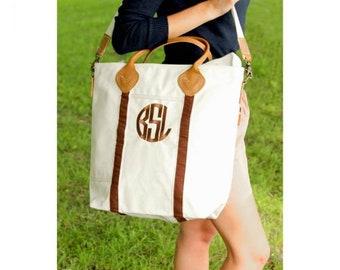 Monogrammed Carry On Flight Bag, Weekender, Personalized Carry On Bag, Shoulder Bag, Travel Bag