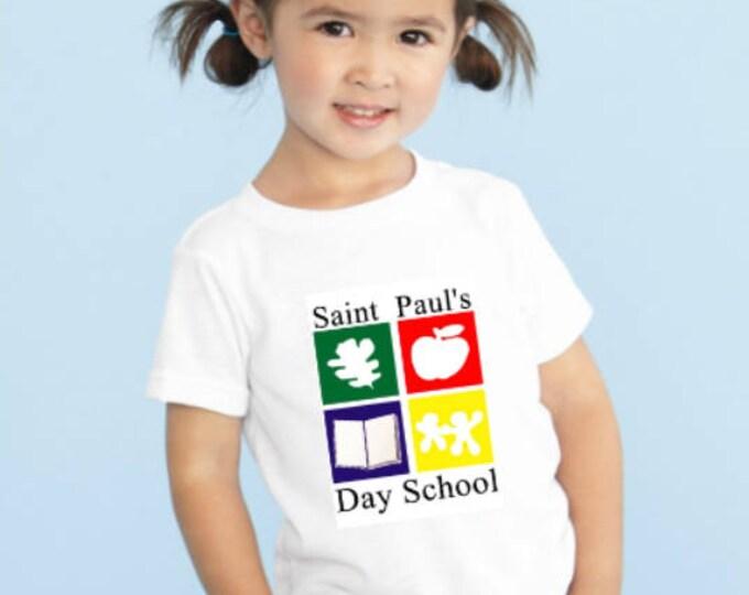 Custom Tee Shirts for St. Paul's Day School