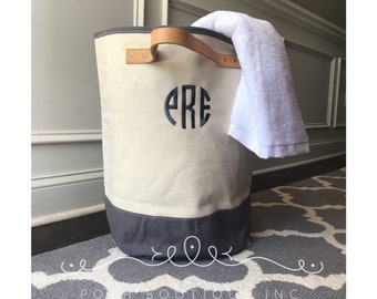 Monogram Laundry Hamper, Laundry Bag, Dorm Life Must Have, Laundry Tote Bag, Graduation Gifts, Discounts on Multiples