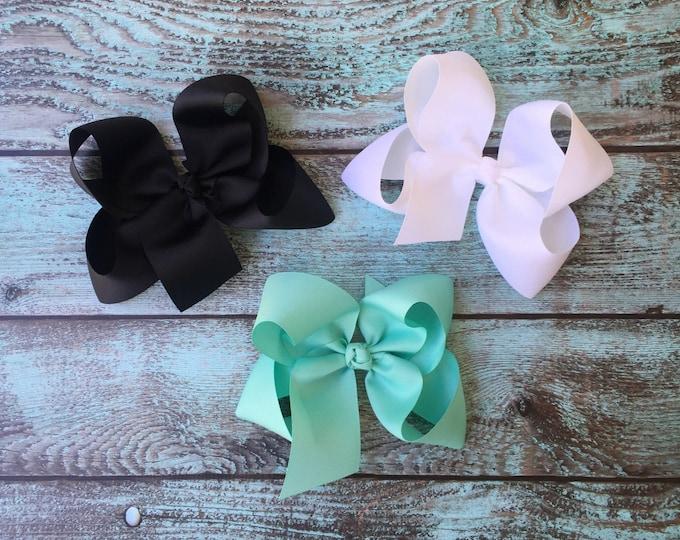 Big Hair bow, Jumbo Boutique hair bow, Hair bows, Big Hair Bows, Posh Boutique