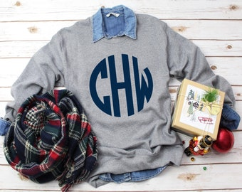 Sweatshirt Sale! Monogrammed Sweatshirts for Ladies and Girls, Custom Sweatshirts, Gifts for Her, Gifts under 20