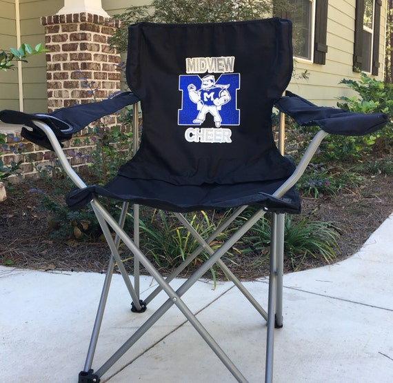 Wondrous Monogrammed Chair Coaches Gift Custom Folding Camp Chair Rv Chair Tailgating Chair Sports Team Chair Personalized Chairs Beatyapartments Chair Design Images Beatyapartmentscom
