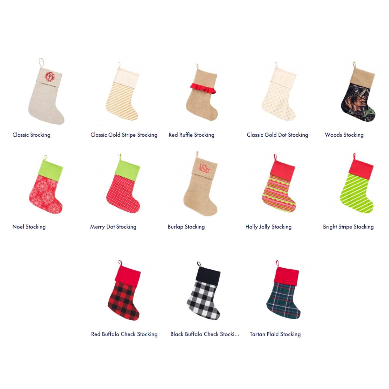 Monogrammed Christmas Stockings, Christmas Stockings, Christmas ...