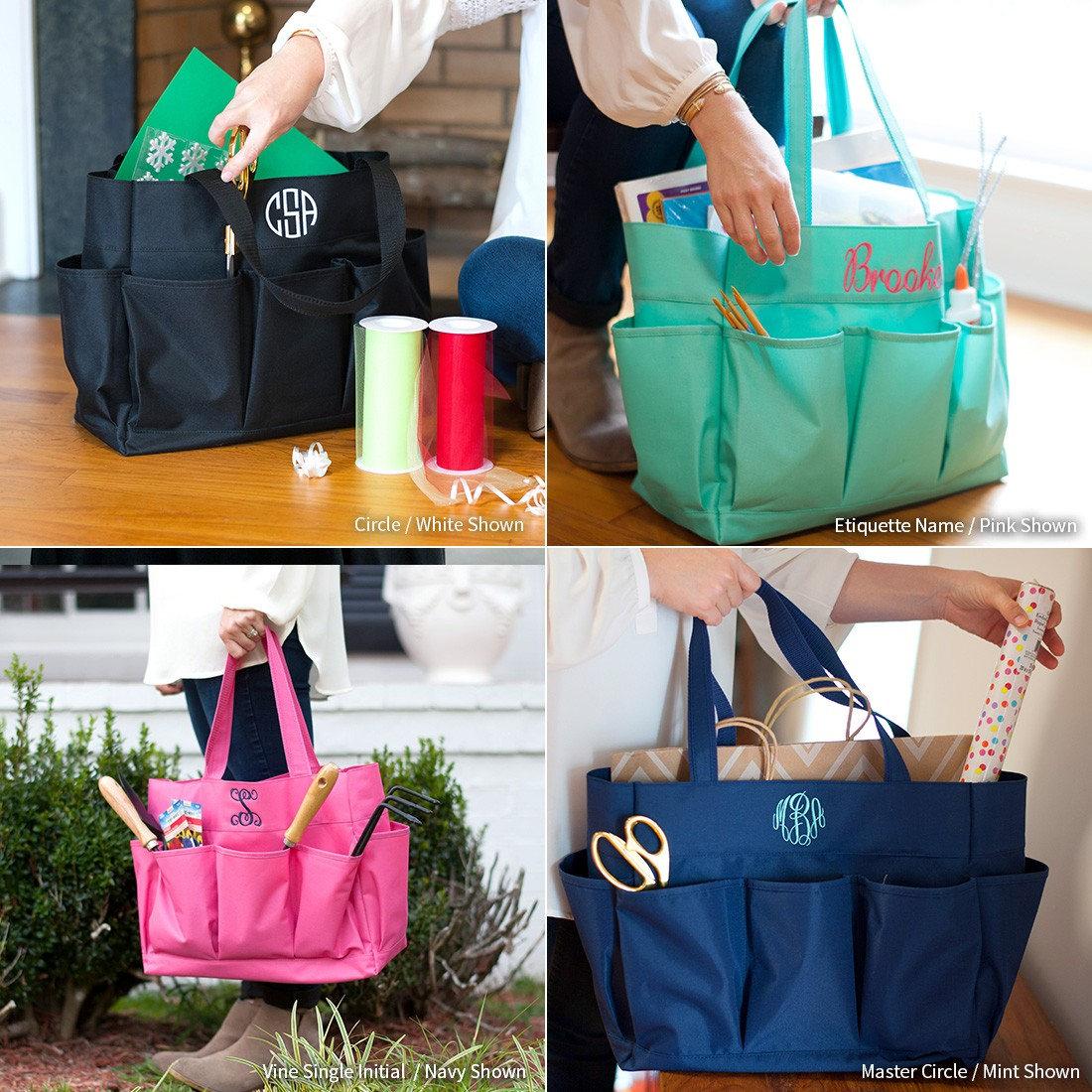 105085ac86d4 Monogrammed Tote Bag