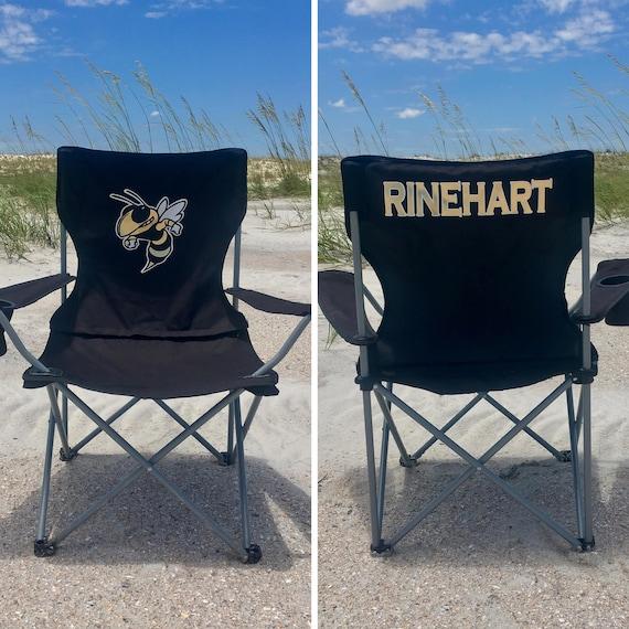 Tremendous Custom Folding Chair Personalized Chair Beach Chair Groomsman Gift Custom Camp Chair Game Day Chair Personalized Chairs Cjindustries Chair Design For Home Cjindustriesco