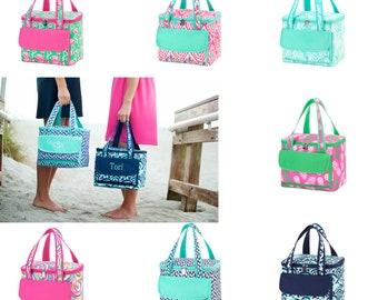 Monogrammed Cooler Tote, Cooler Bag, Monogram Cooler Bag, Lunch Box