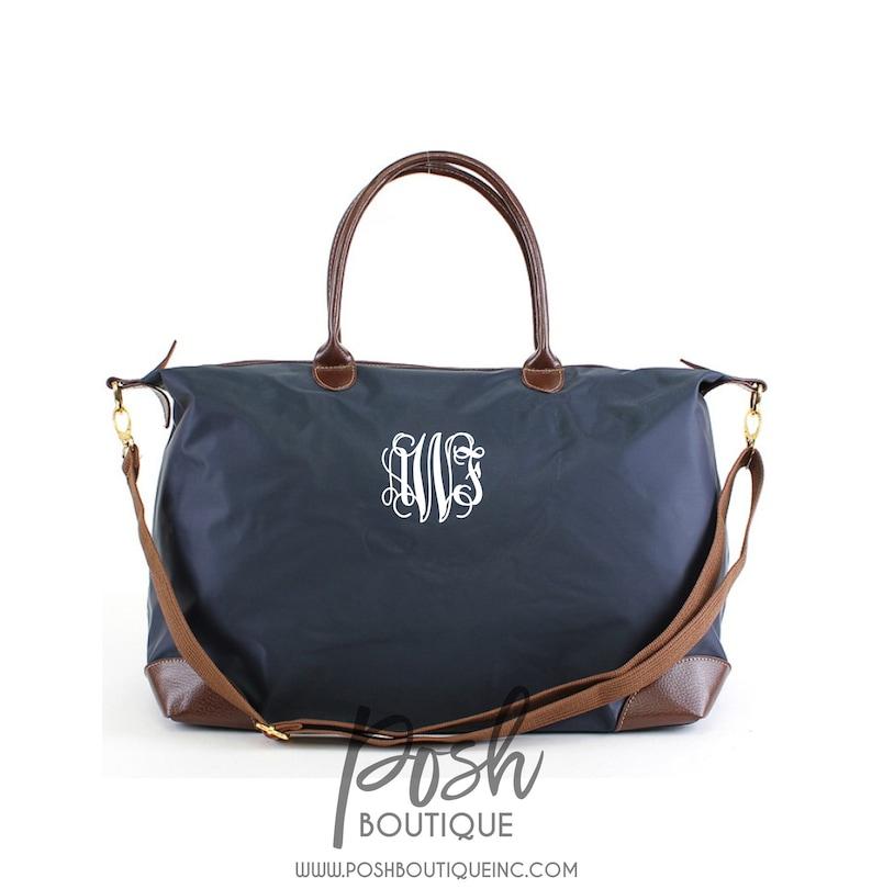 c9170bfe4c96 Oversized Monogrammed Duffle Bag