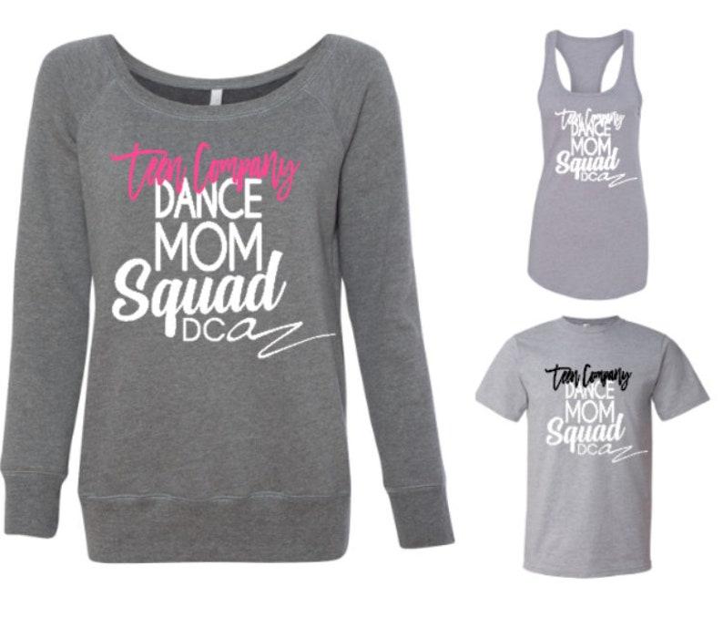 6045b1926e0a05 Dance Studio Shirts Custom Dance Moms and Dancers Shirts
