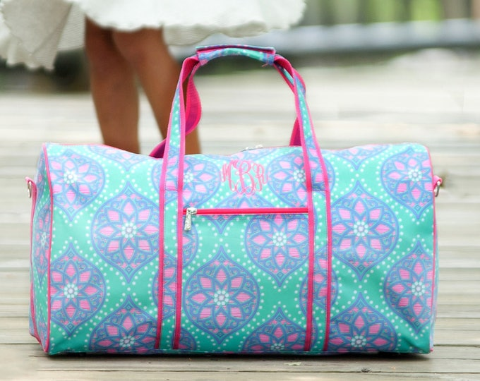 Girls Travel Collection, Marlee Collection, Back To School, Summer Camp, Monogrammed Gifts, Duffel Bag, Cosmetic Bag, Kids travel set