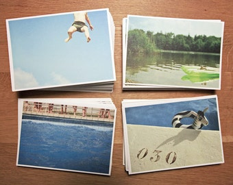 4 SUMMER  - POST CARDS