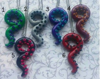 Tentacle Pendants