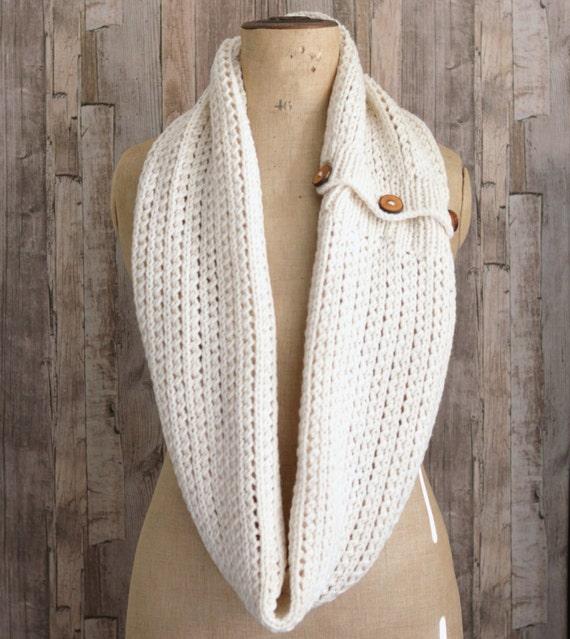 Easy Knitting Pattern Tutorial For Chunky Rib Mesh Infinity Etsy