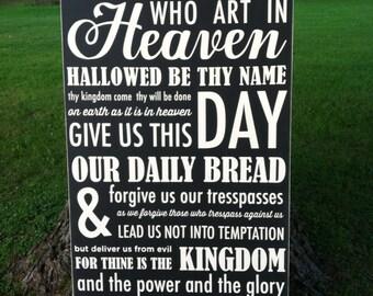 24x44 The Lord's Prayer