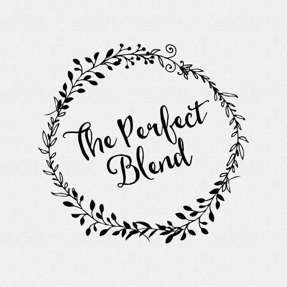 Die perfekte Mischung Stempel Kaffee Hochzeit Gefälligkeiten | Etsy