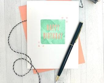 Birthday Cards For Friends, Happy Birthday Card, Handmade Birthday Cards, Birthday Card For Her, Best Friend Birthday Card, Bday Card Girl