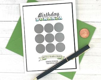 Lotto Fun Birthday | Lottery Sc