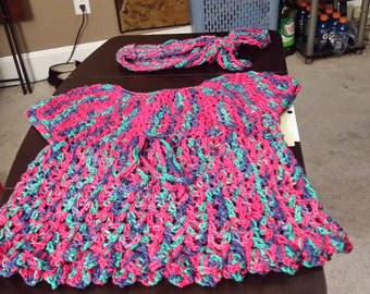 Toddler dress and headband