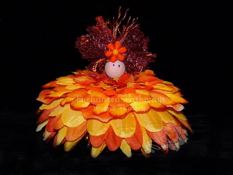 Suzie the Flower Petal Faerie Fairy OOAK image 0