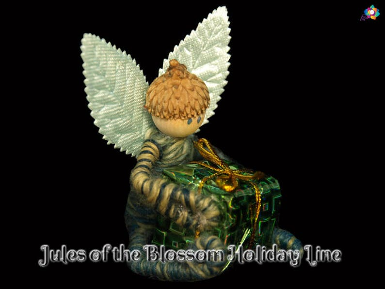 Jules of the Blossom Holiday Line Fairy Prince OOAK Doll image 0