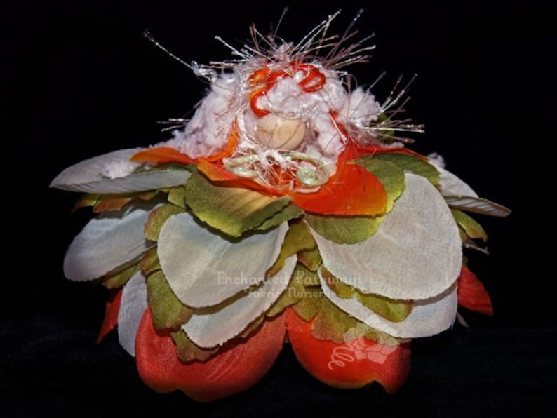 Ammu the Flower Petal Faerie Fairy OOAK image 0