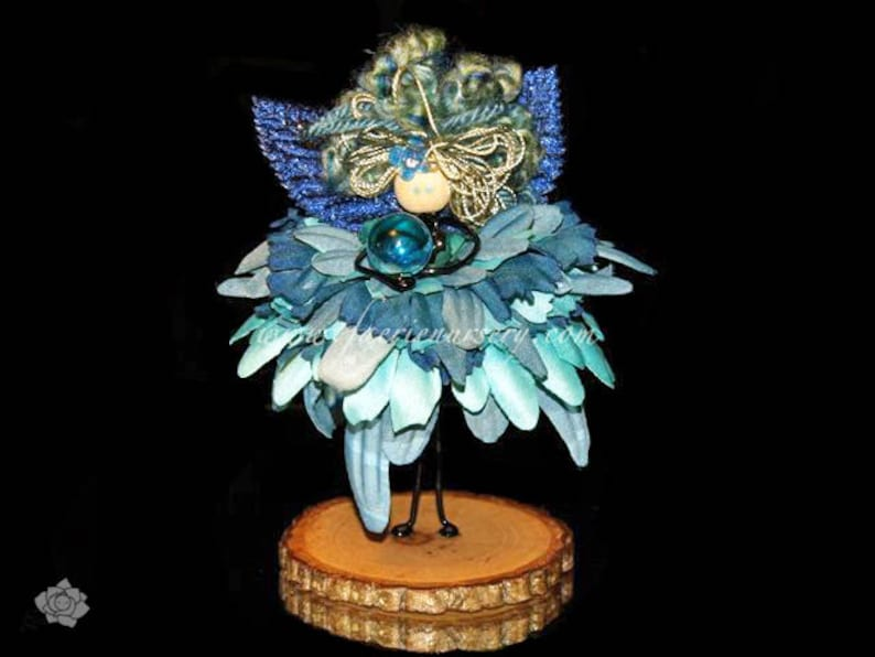 The Northern Faeries  Agua   Fairy Faerie Doll OOAK image 0