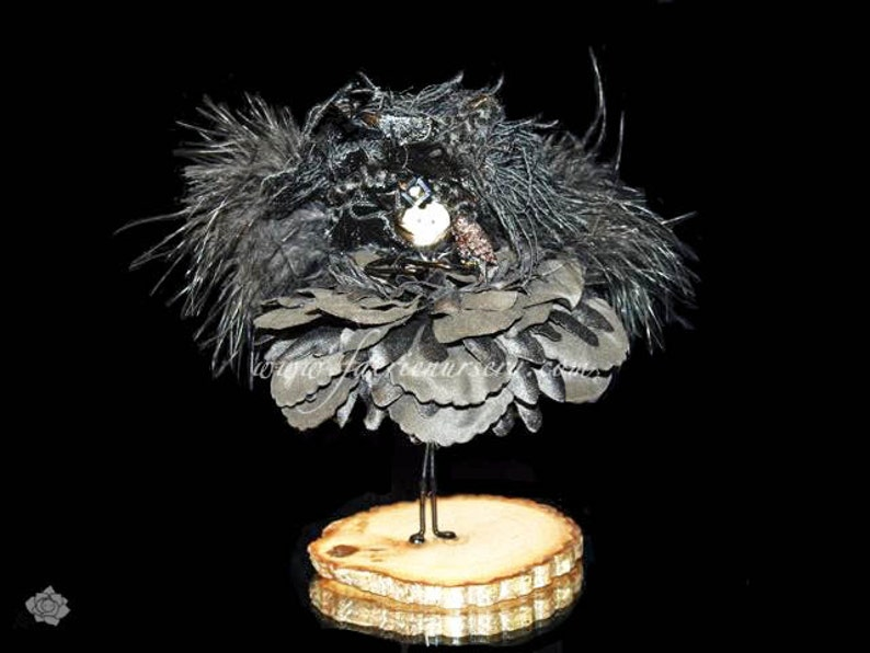 The Northern Faeries  Raven  OOAK Fairy image 0