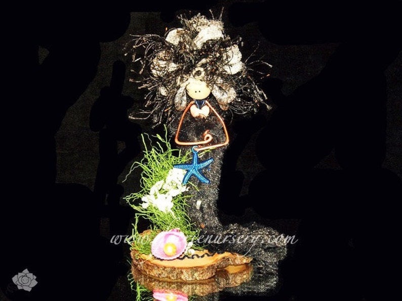 The Northern Faeries  Mistress Sanna Mermaid OOAK Fairy image 0