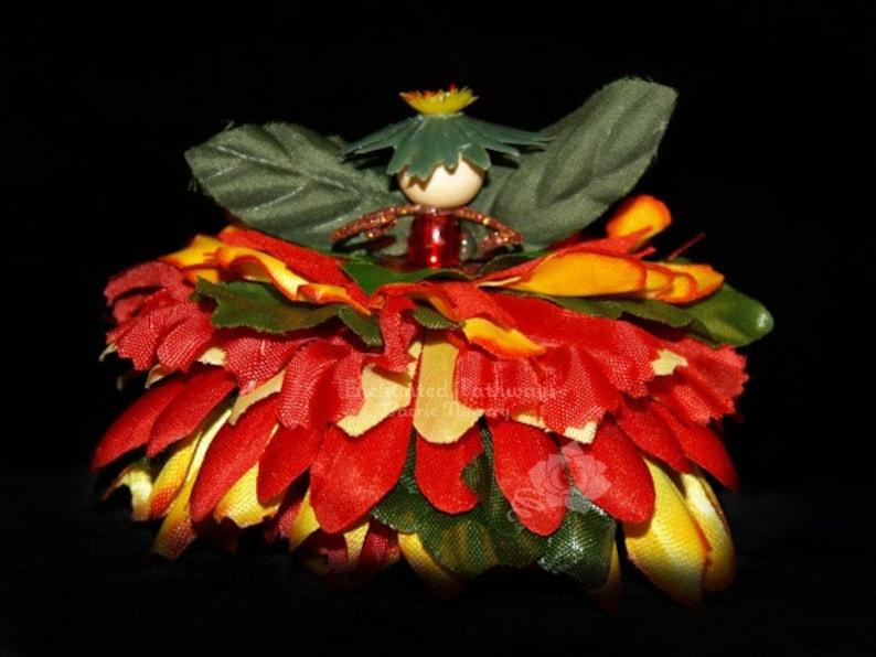 Apricot the Flower Petal Faerie Fairy OOAK image 0