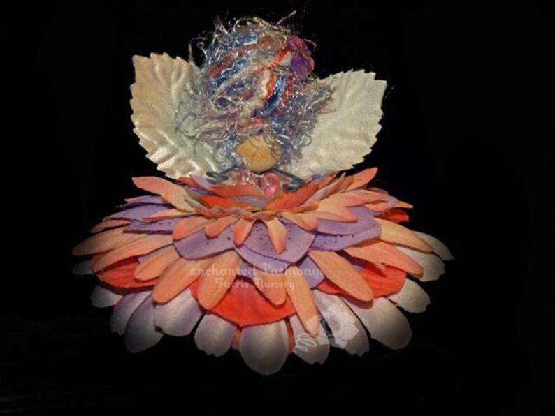 Jade the Flower Petal Faerie Fairy OOAK image 0