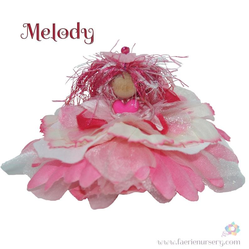 Melody the Flower Petal Faerie Fairy OOAK image 0