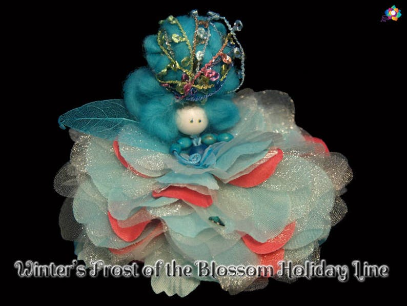 Winter's Frost of the Blossom Holiday Line Fairy Faerie image 0