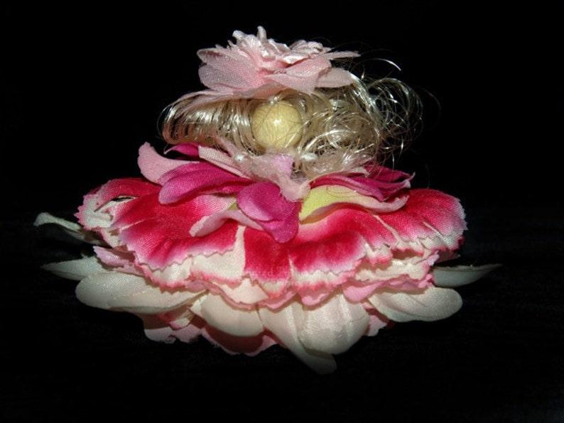 Liza the Flower Petal Faerie Fairy OOAK image 0