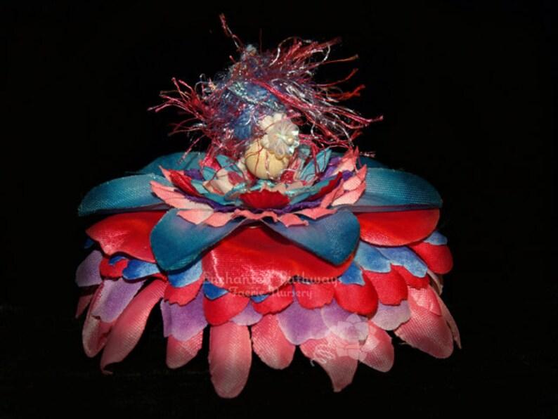 Madie the Flower Petal Faerie Fairy OOAK image 0