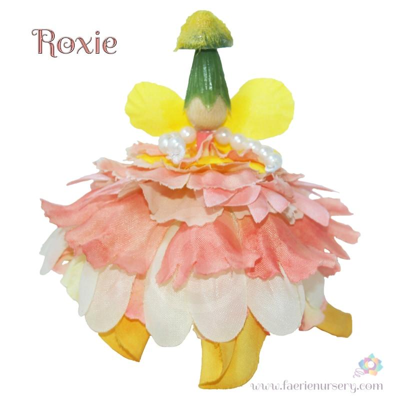 Roxie the Flower Petal Faerie Fairy OOAK image 0